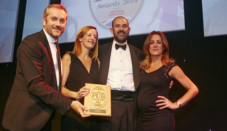 great British pub awards 2014