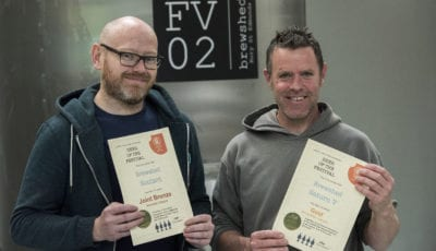 Brewshed scoops bronze and gold